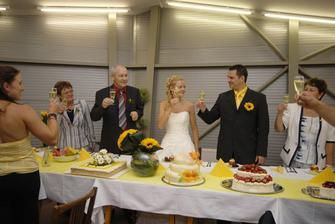 naše výborné svatební dorty