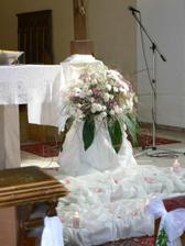 vlastní výzdoba kostela