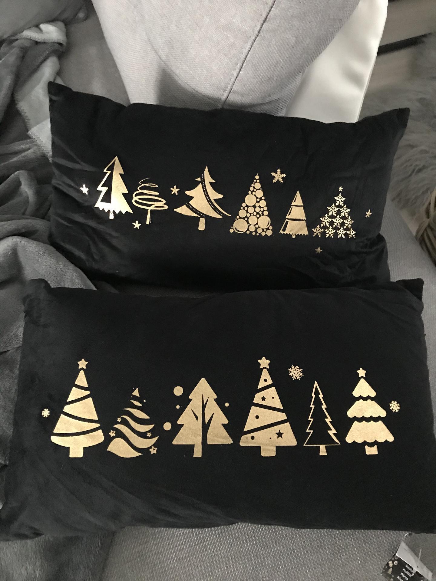 Jsem blázen nakupuji na příští vánoce-černý samet-Tesco-99 kč🙈-výprodej. - Obrázek č. 1