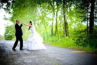 Lekce v boxování i ve svatební den (můj muž je totiž bývalý boxer) :)