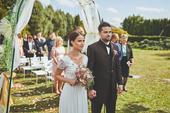 Svatební šaty vel. 36-38, 38