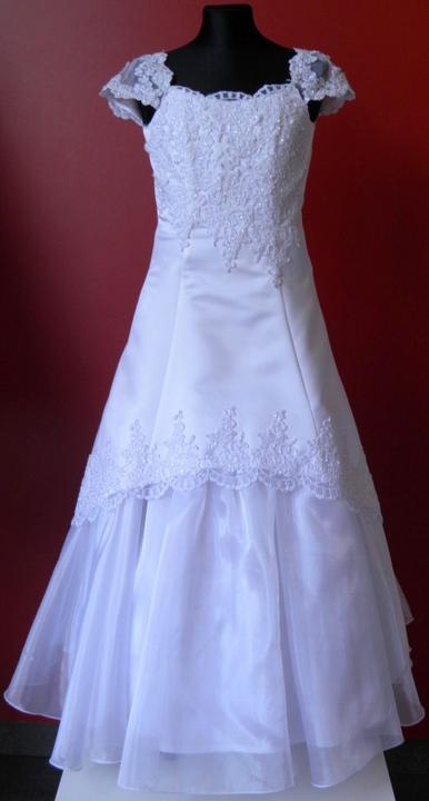 ff502fcbb49a Andrea Mabell Svadobná a spoločenská móda (výpredaj všetkého tovaru) -  Detské šaty na 1. sväté prijímanie