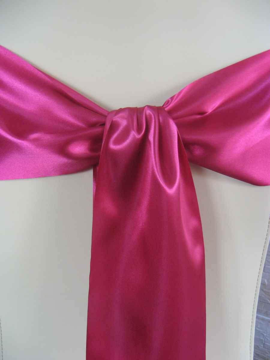 Saténové mašle - kráľovská purpurová - predaj - Obrázok č. 1