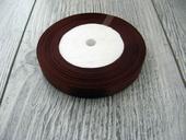 Saténová stužka hnedá - Brown 6mmx32m,
