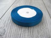 Saténová stužka modrá - Deep Blue 6mmx32m,