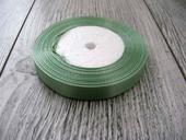 Saténová stužka zelená - Hemlock 6mmx32m,