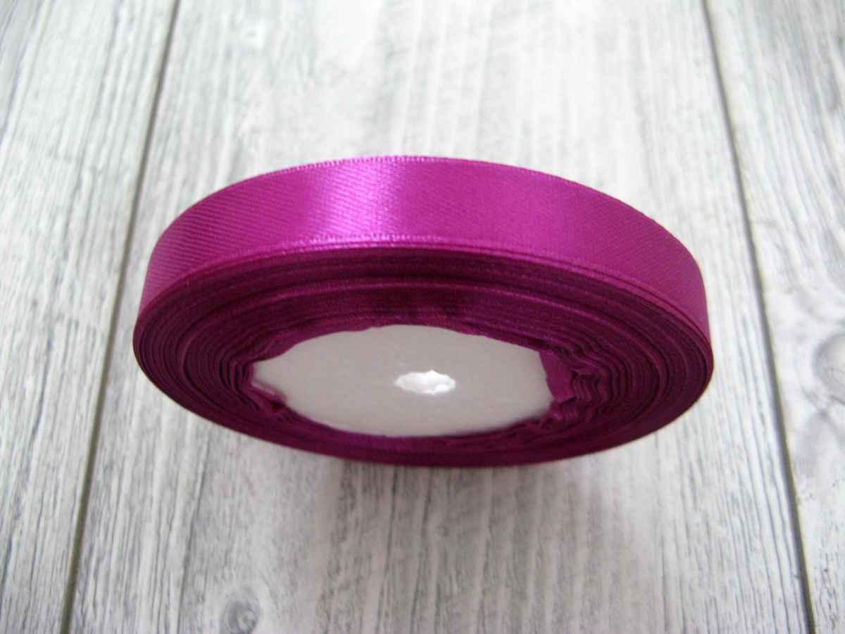 Saténová stužka tmavofialová- D. Violet 12,5mmx32m - Obrázok č. 2