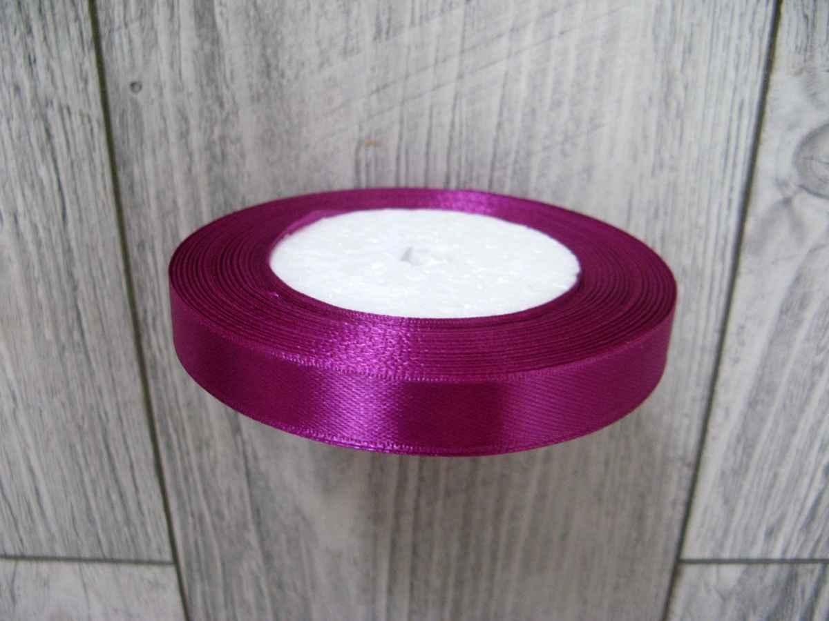 Saténová stužka tmavofialová- D. Violet 12,5mmx32m - Obrázok č. 3