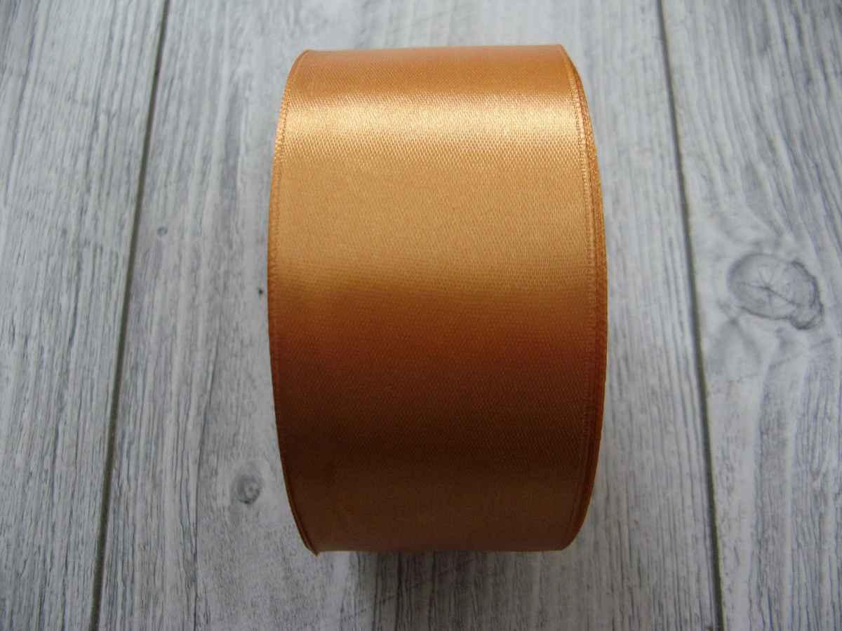 Saténová stužka zlatá - Gold 50mmx32m - Obrázok č. 3