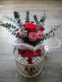 Svadobná kytica zo stabilizovaných kvetov,