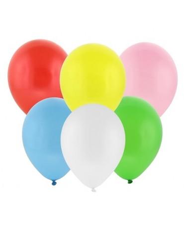 Latexové balóny pastelové mix farieb 30cm 100ks - Obrázok č. 1