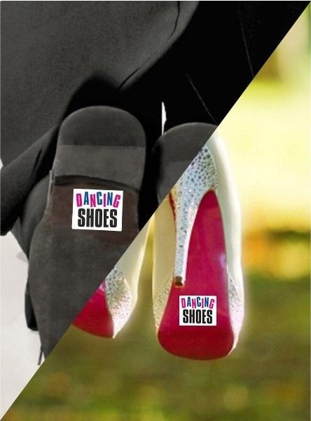 Nálepky na topánky - viac druhov - Obrázok č. 1