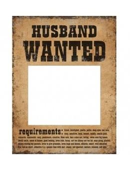 Rekvizity na fotenie Husband / Wife Wanted 2ks - Obrázok č. 2