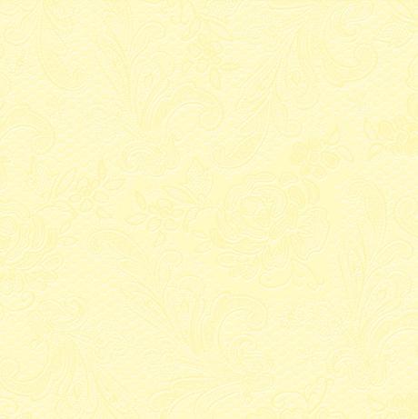 Reliéfne servítky s motívom čipky - svetložltá - Obrázok č. 1