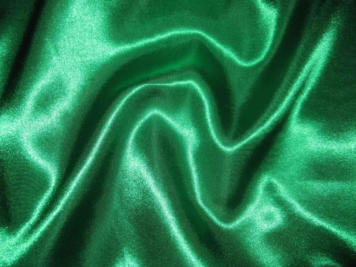 Satén zelený 150cm - Obrázok č. 1