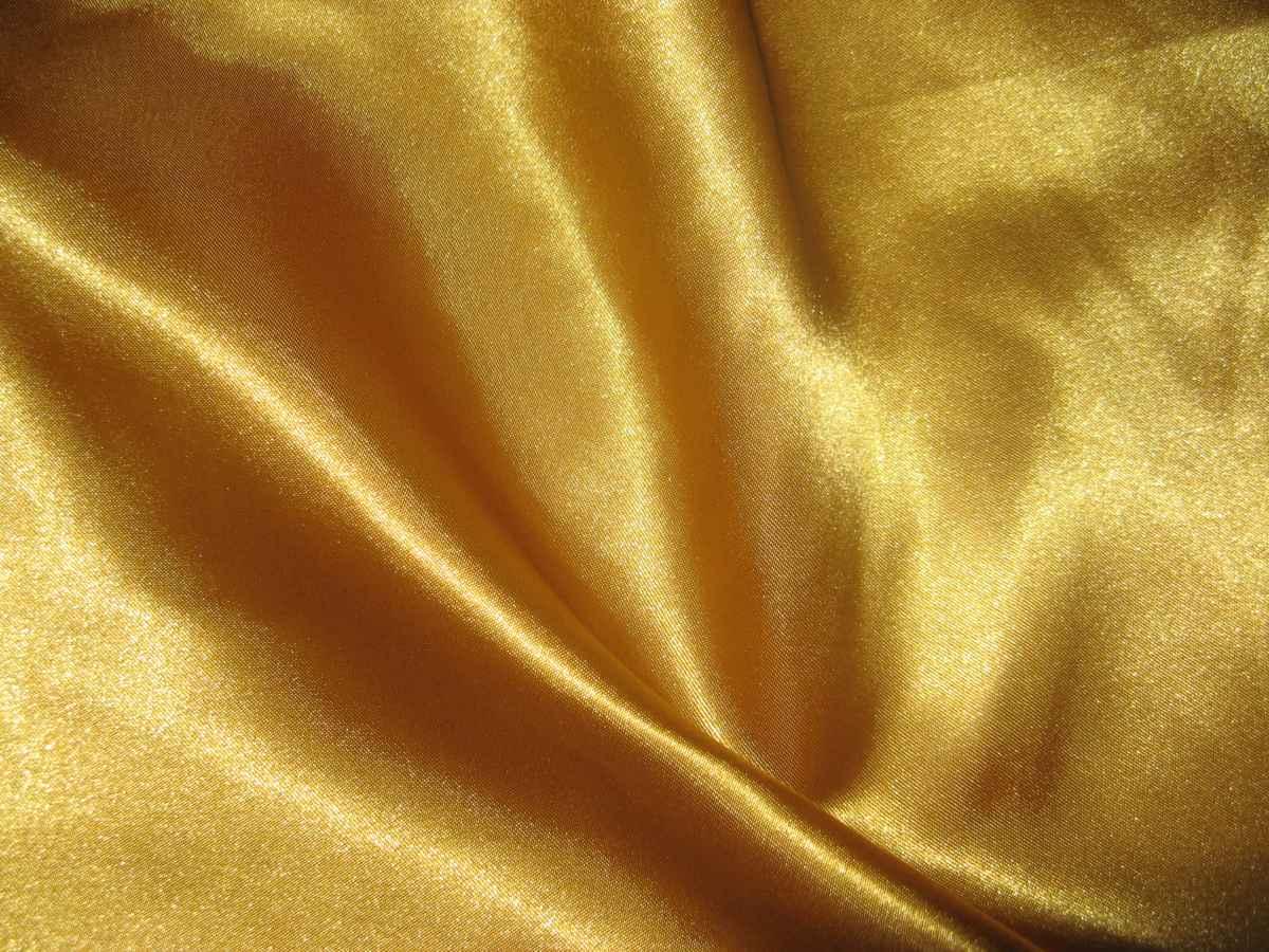 Satén zlatý 150cm - Obrázok č. 1