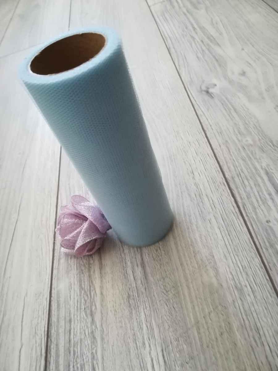 Tyl pastelovomodrý 15cmx9m - predaj - Obrázok č. 2