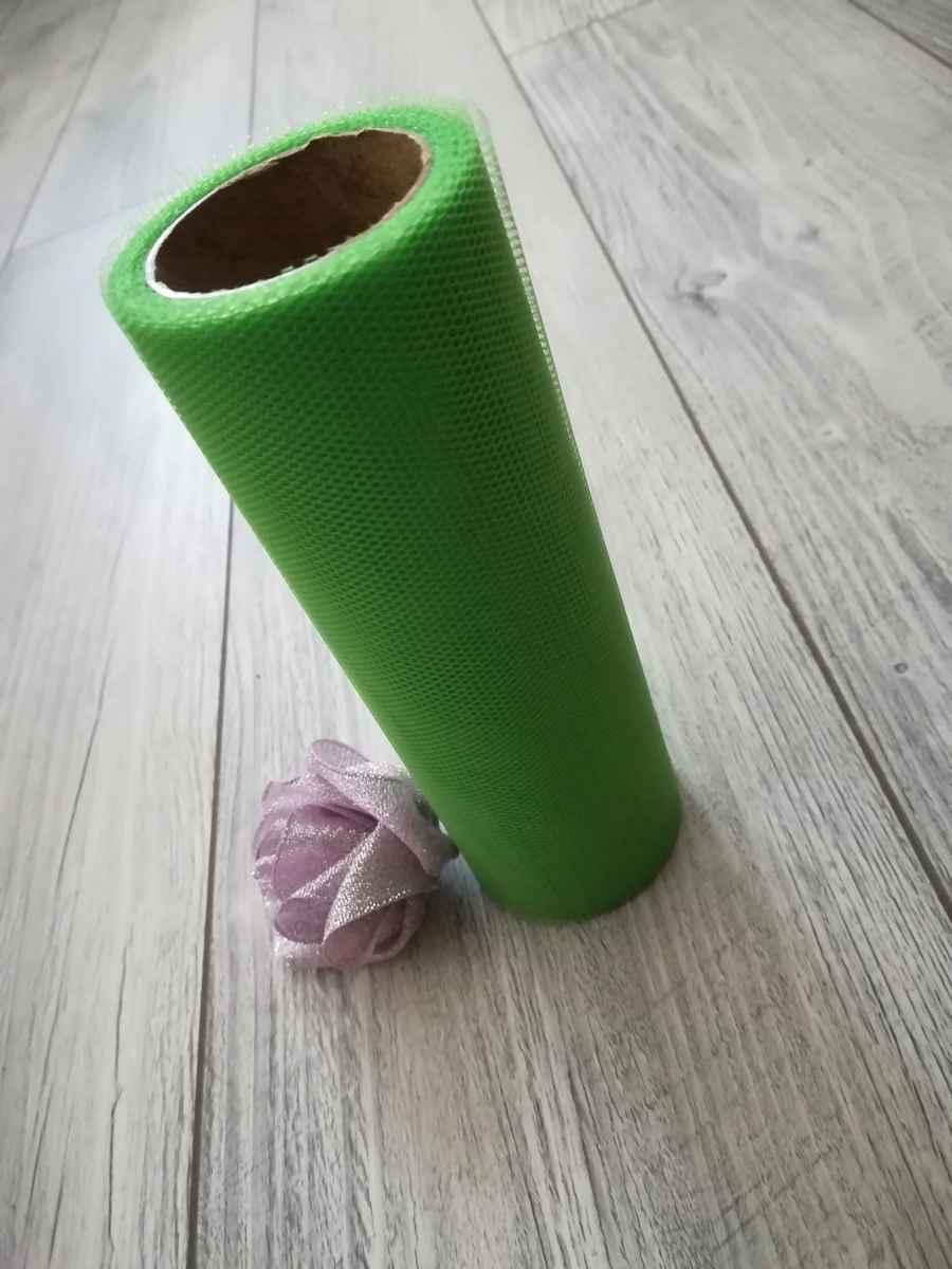 Tyl zelený 15cmx9m - predaj - Obrázok č. 2