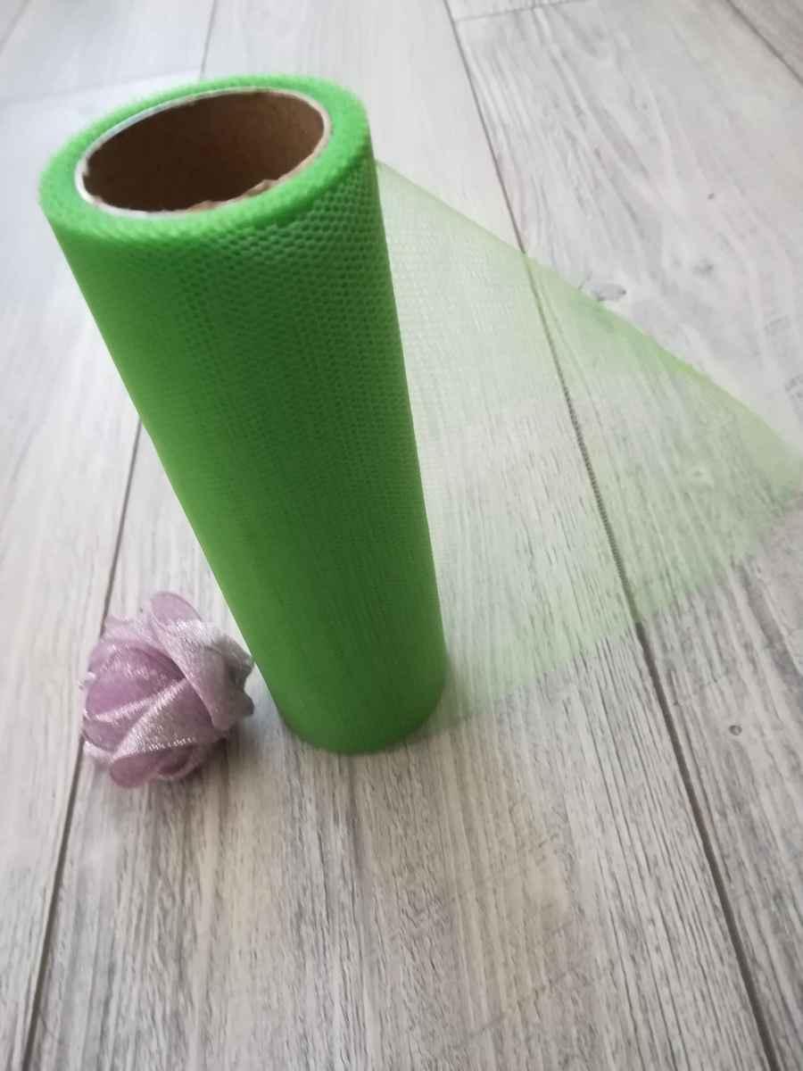 Tyl zelený 15cmx9m - predaj - Obrázok č. 3