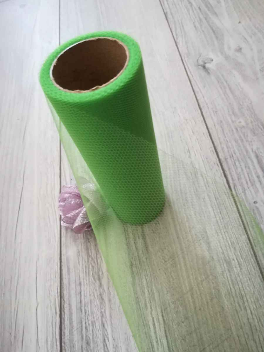 Tyl zelený 15cmx9m - predaj - Obrázok č. 4