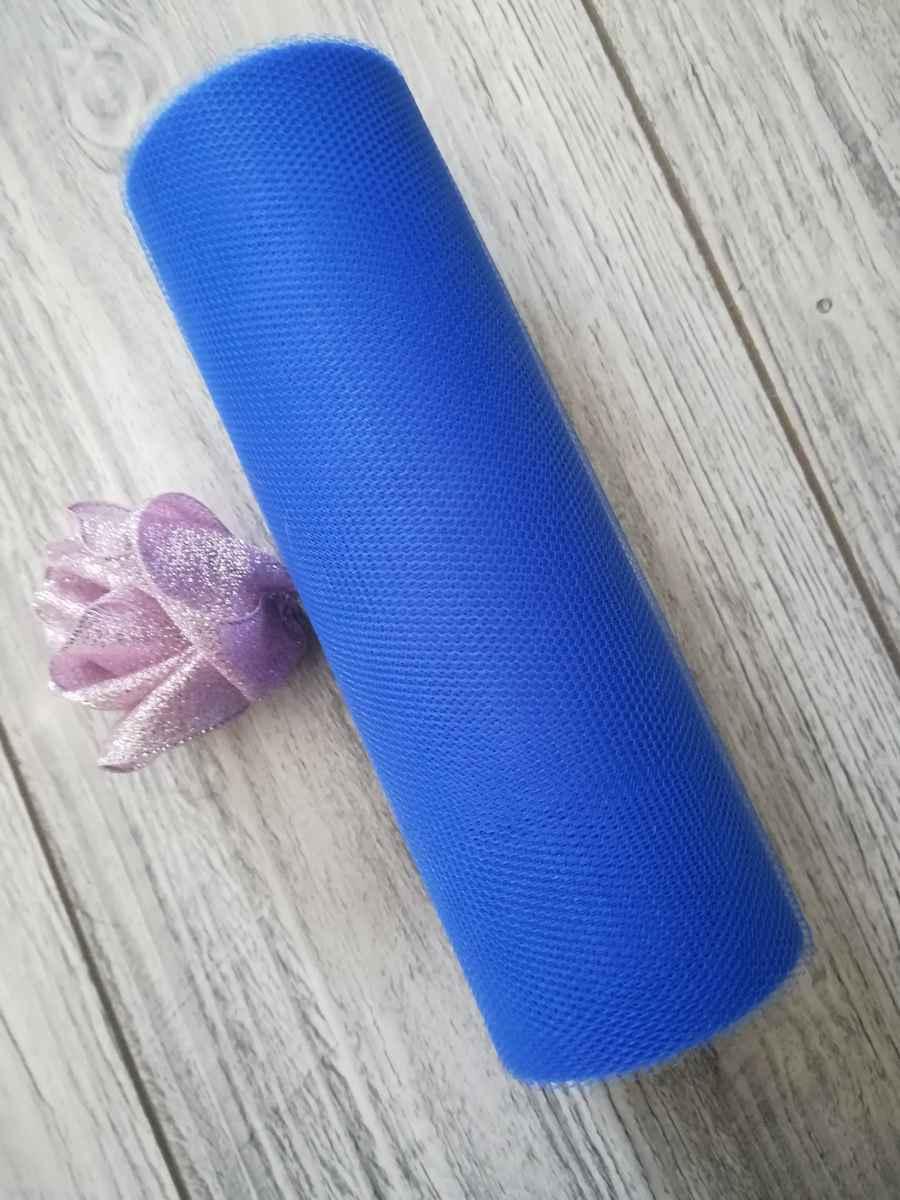 Tyl kráľovský modrý 15cmx9m - predaj - Obrázok č. 1