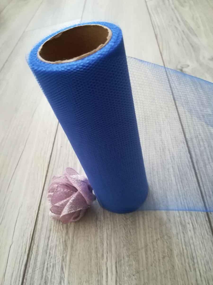 Tyl kráľovský modrý 15cmx9m - predaj - Obrázok č. 3