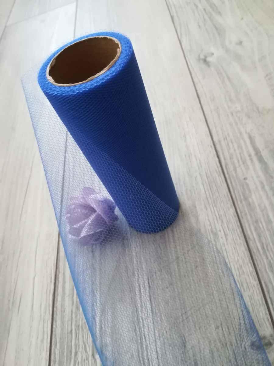 Tyl kráľovský modrý 15cmx9m - predaj - Obrázok č. 4