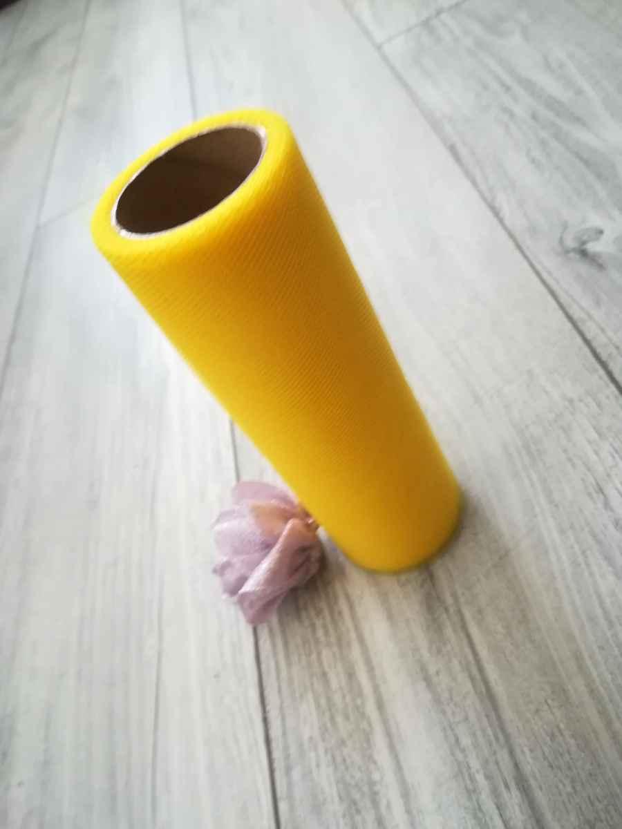 Tyl žltý 30cmx9m - predaj  - Obrázok č. 2