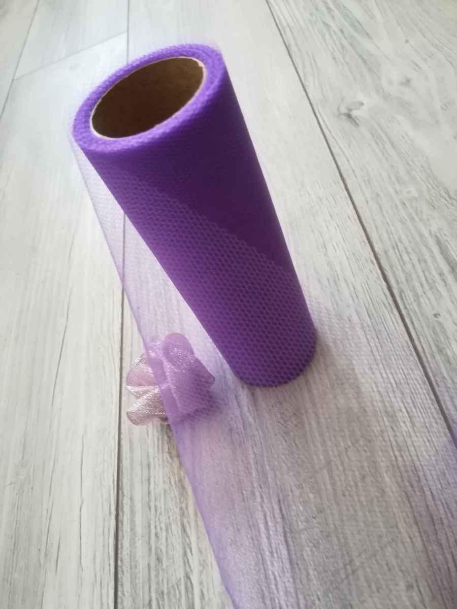 Tyl fialový l. 30cmx9m - predaj - Obrázok č. 4