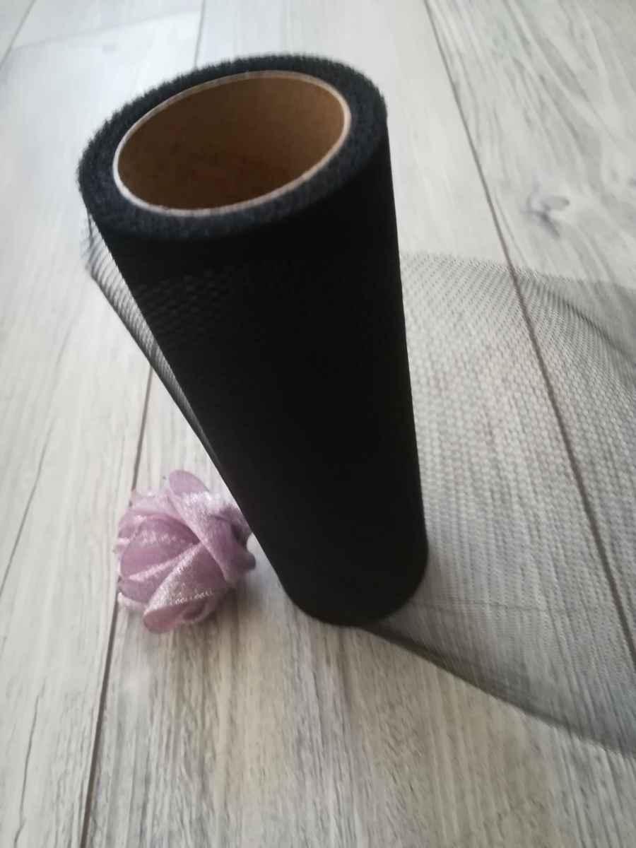 Tyl čierny 30cmx9m - predaj - Obrázok č. 3