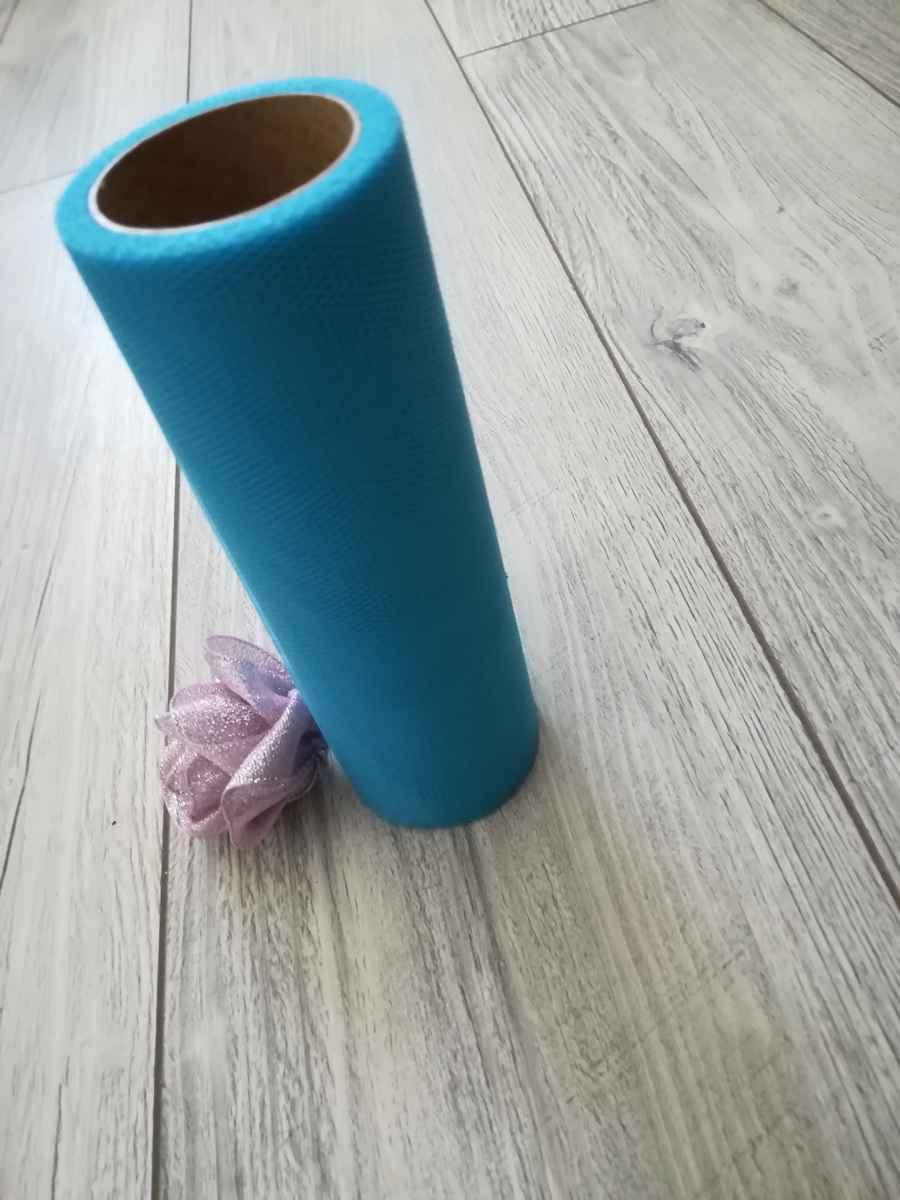 Tyl modrý ll. 50cmx9m - predaj - Obrázok č. 2