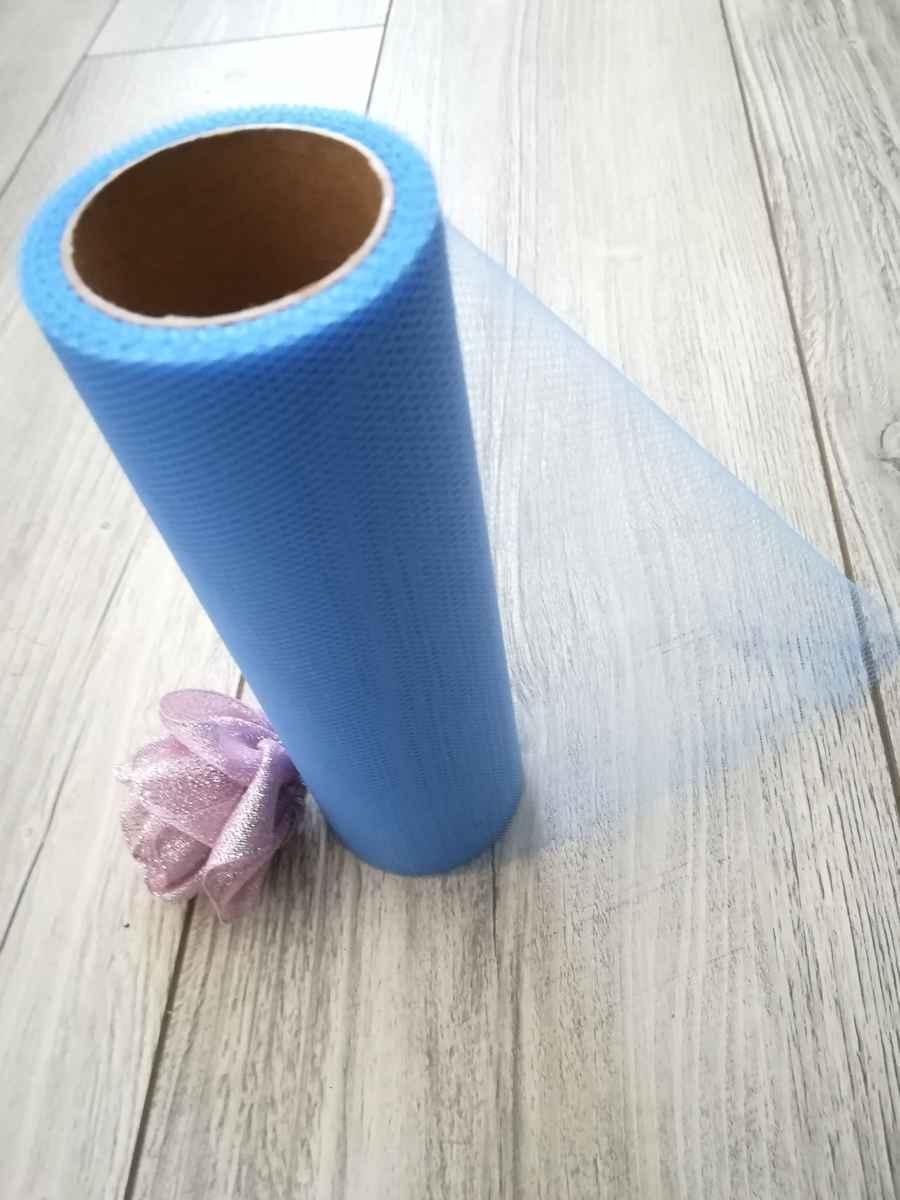 Tyl modrý l. 50cmx9m - predaj - Obrázok č. 3