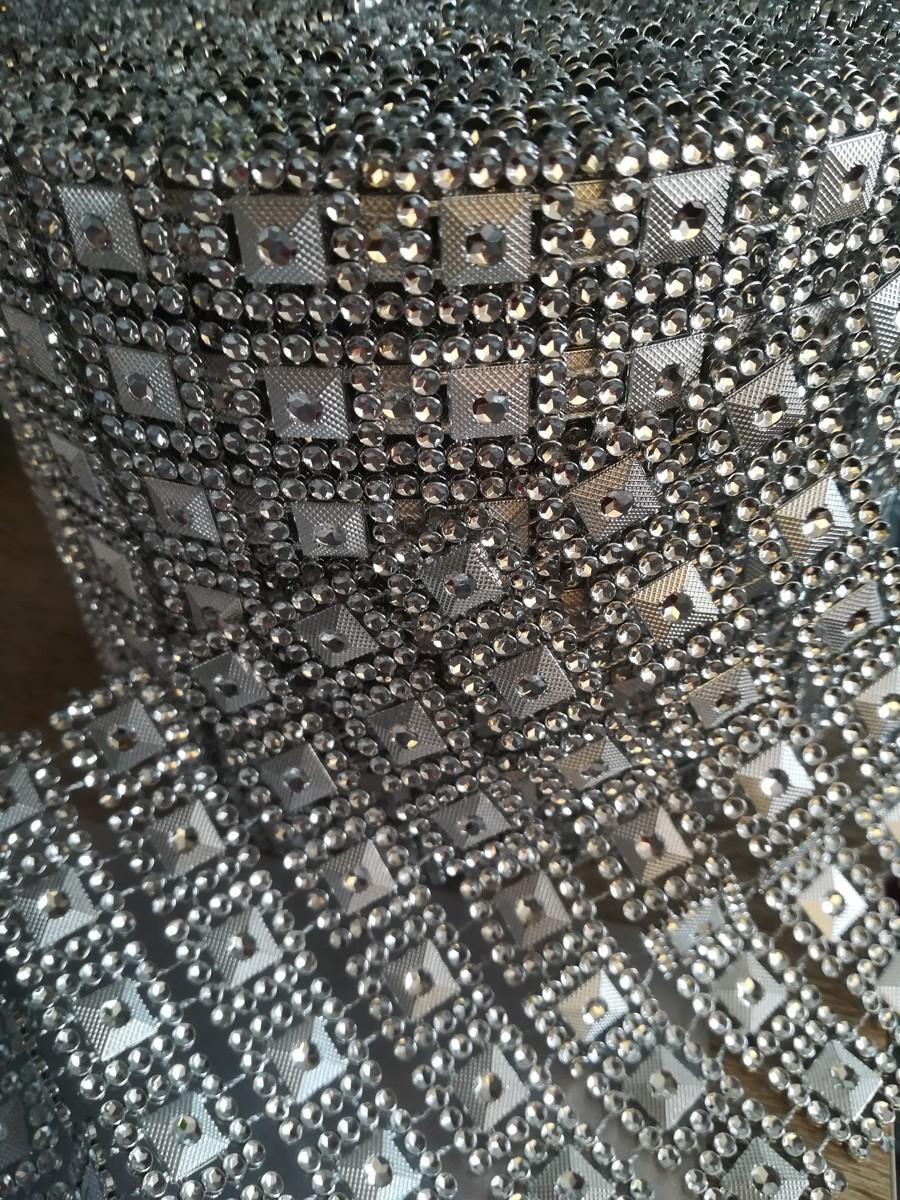 Diamantový pás I. strieborný 10,5cm - Obrázok č. 2