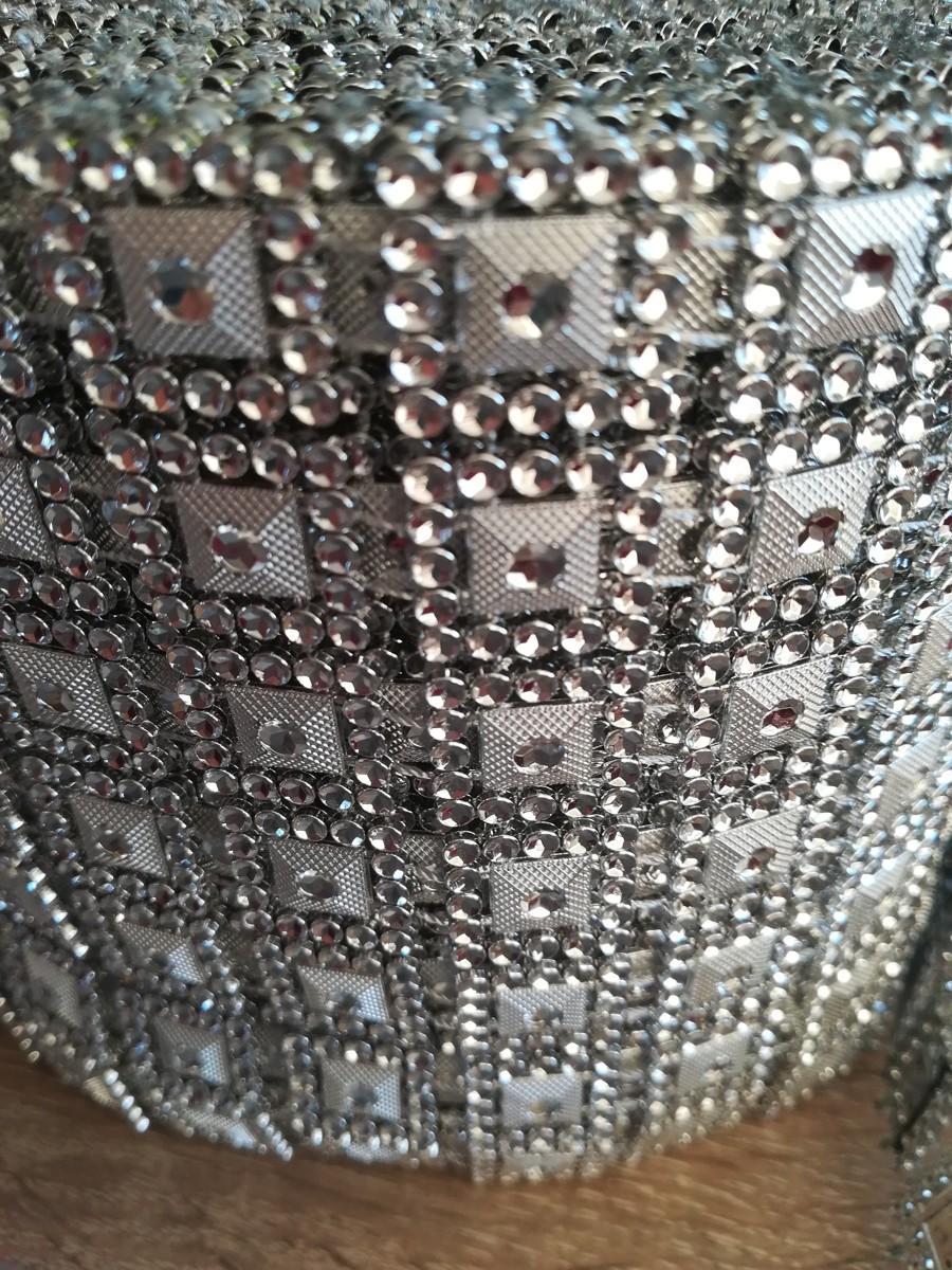 Diamantový pás I. strieborný 10,5cm - Obrázok č. 3
