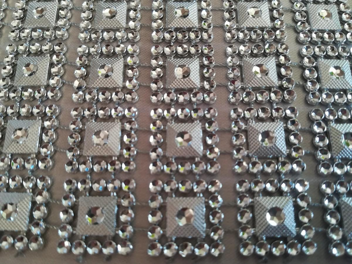 Diamantový pás I. strieborný 10,5cm - Obrázok č. 4