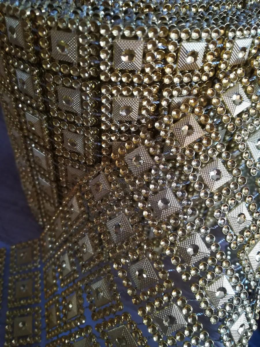 Diamantový pás I. zlatý 10,5cm - Obrázok č. 2