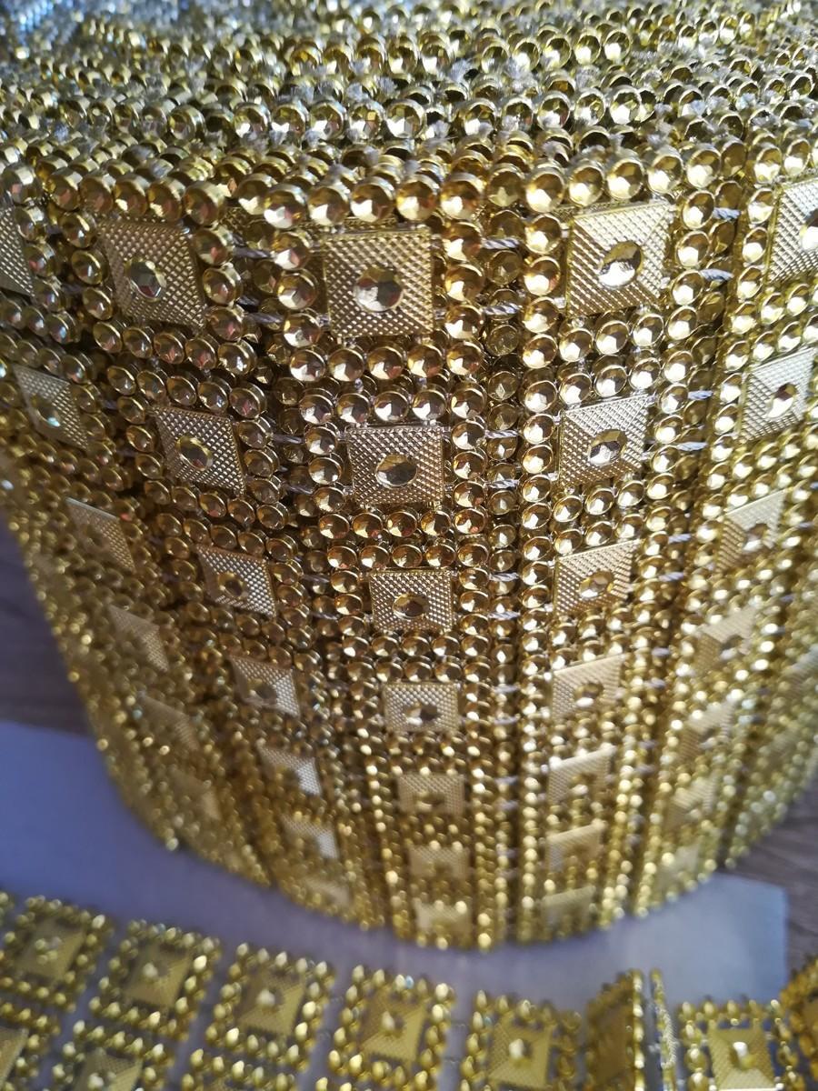 Diamantový pás I. zlatý 10,5cm - Obrázok č. 3
