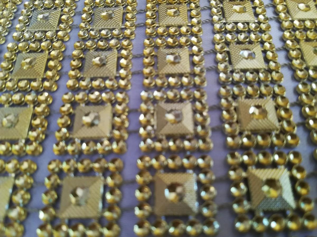 Diamantový pás I. zlatý 10,5cm - Obrázok č. 4