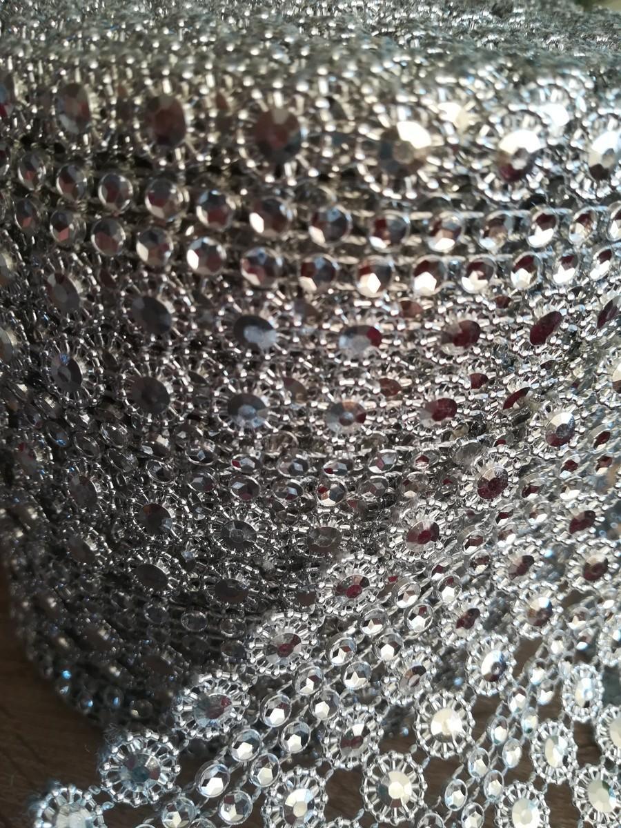Diamantový pás II. strieborný 11cm - Obrázok č. 2