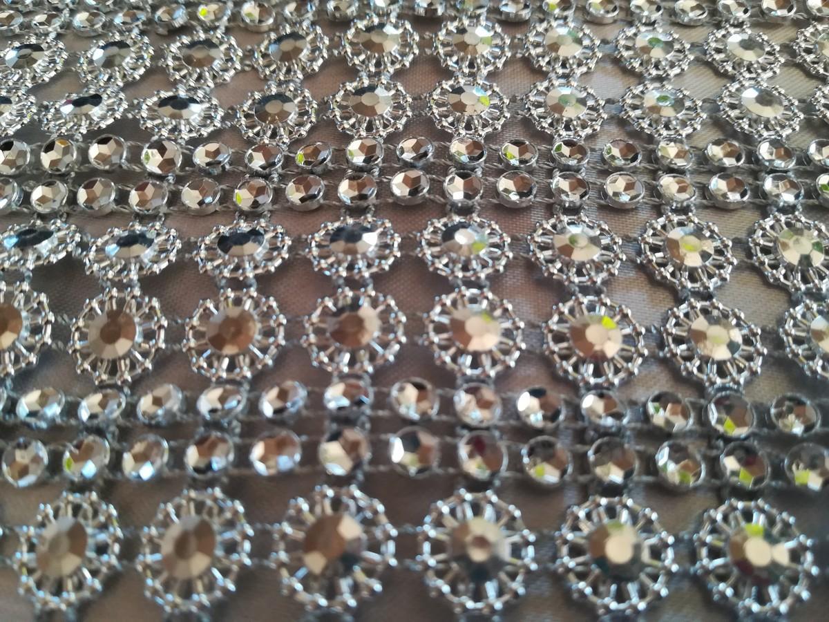 Diamantový pás II. strieborný 11cm - Obrázok č. 3
