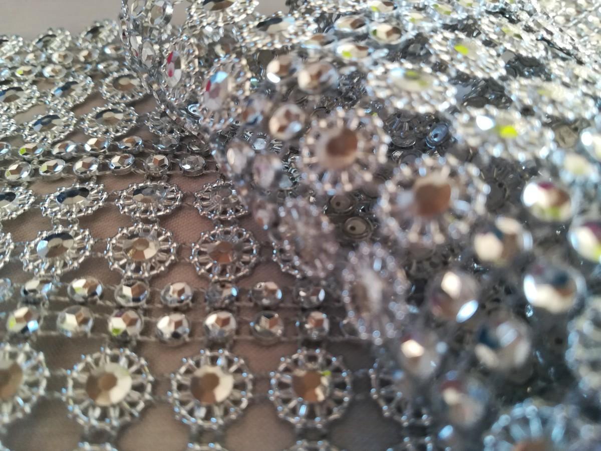 Diamantový pás II. strieborný 11cm - Obrázok č. 4