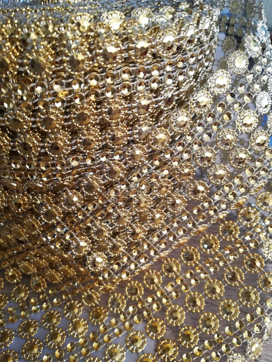 Diamantový pás II. zlatý 11cm - Obrázok č. 4
