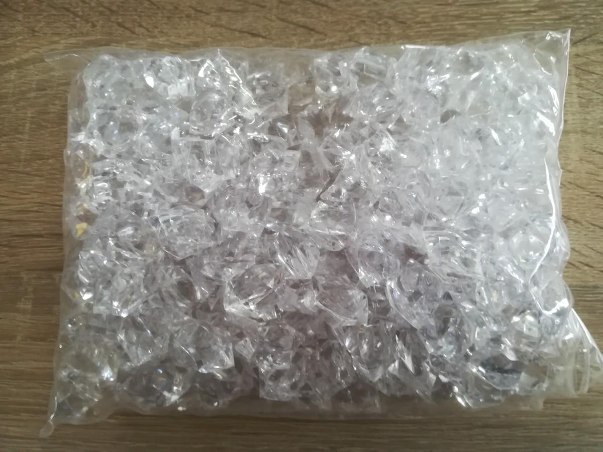 Dekoračný priesvitný ľad 2,3cmx1,8cm - Obrázok č. 1