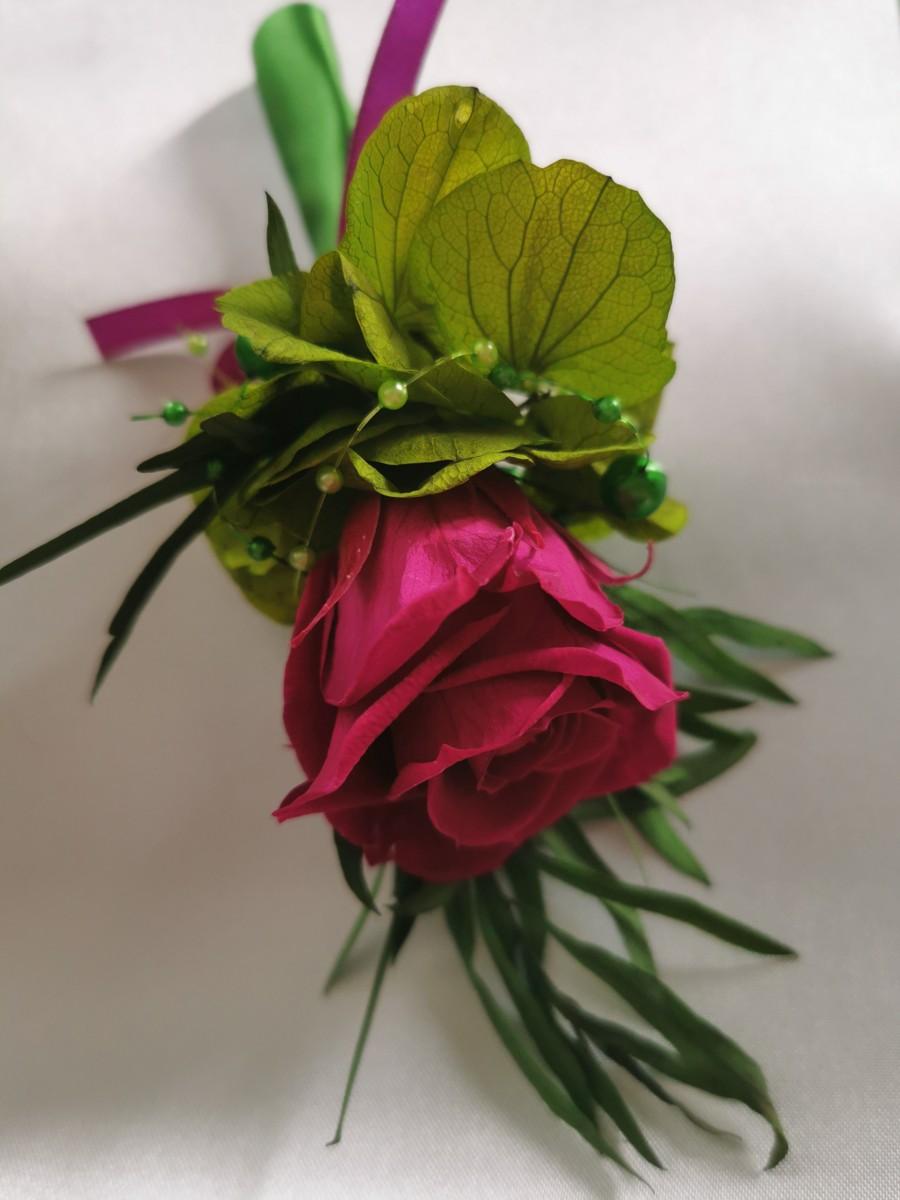 Svadobná kytica zo stabilizovaných kvetov I. - Obrázok č. 4