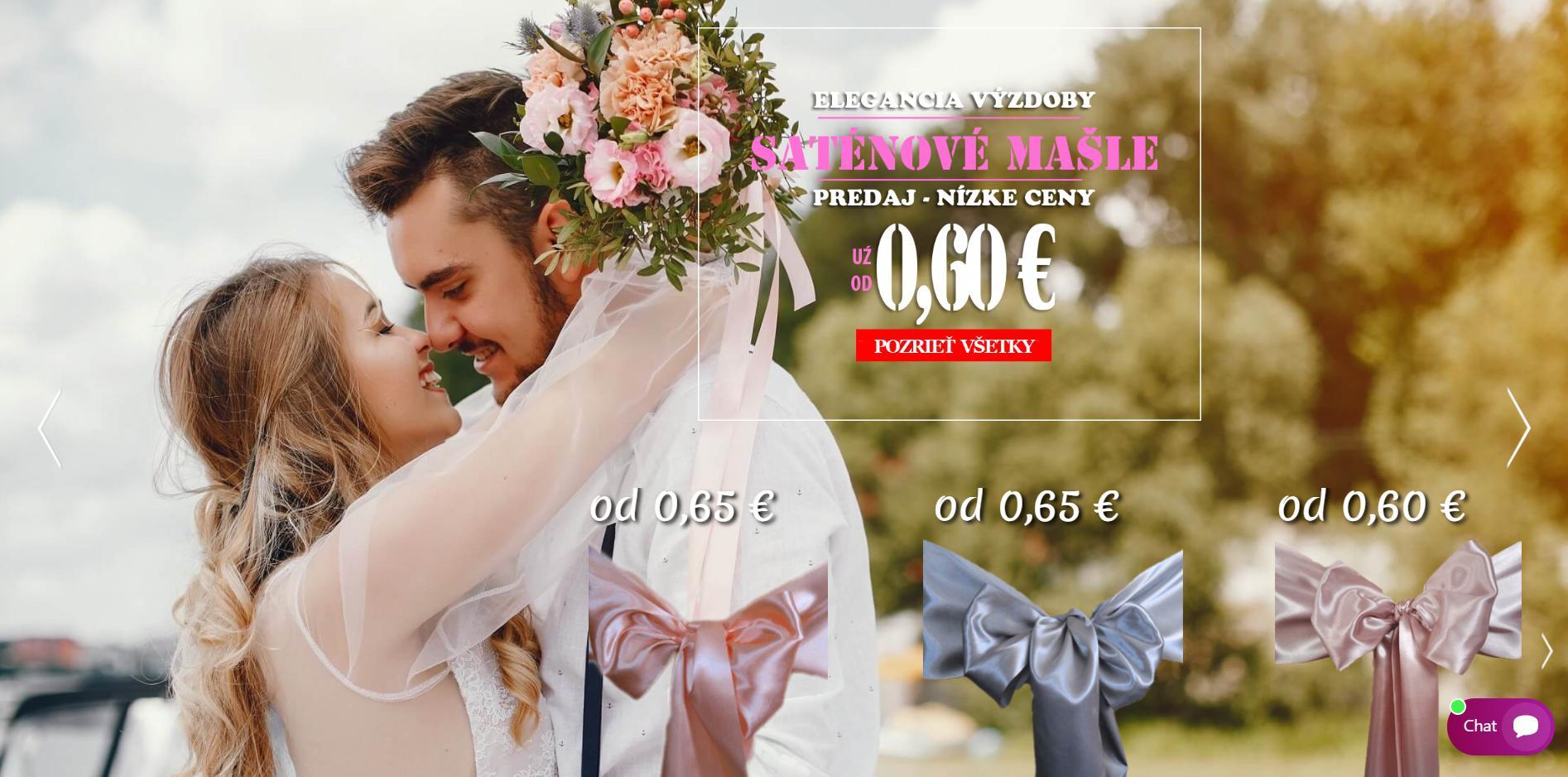 Milé nevesty a agentúry, v našom eshope https://evkakvety-eshop.eu/ nájdete dekoračné materiály za nízke ceny. Napríklad saténové mašle - predaj už od 0,60€. ;-) - Obrázok č. 1