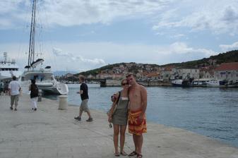 svadobná cesta :-) v Chorvátsku