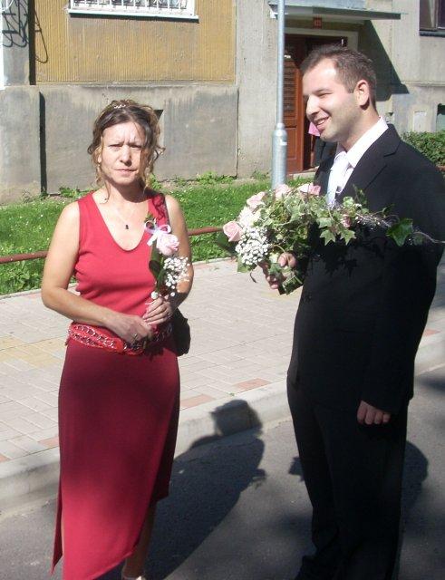 Maruška{{_AND_}}Lukáš - ženich jde s mámou pro nevěstu
