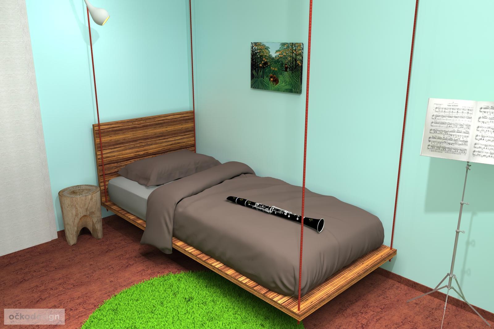...třeba zavěšená postel ? - Obrázek č. 3