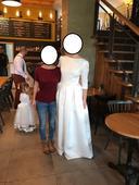Svatobné šaty, veľkosť 40, 40