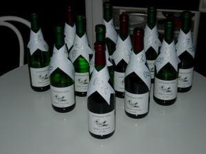 Svatební vína - vlastnoruční výroba